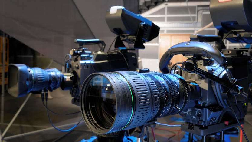Ebu technology innovation camera tests for Camera it web tv